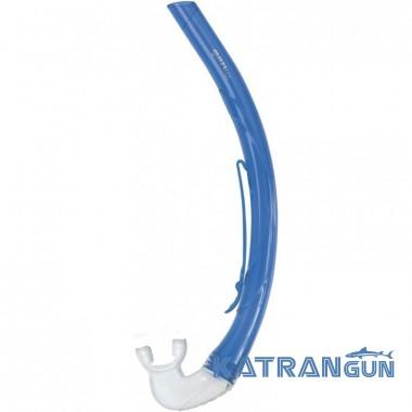 Детская трубка для снорклинга Mares MINI RUDDER синяя