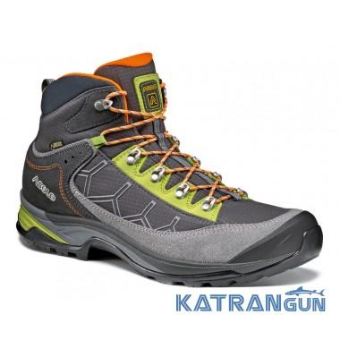 Ботинки для трекинга и восхождений Asolo Falcon GV MM, Grey/Black