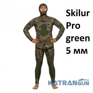 Гідрокостюм Marlin Skilur Pro green; 5 мм