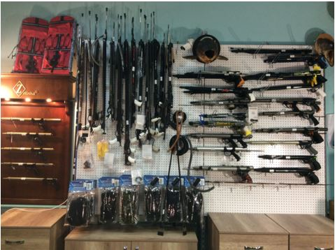 как выбрать ружье для подводной охоты