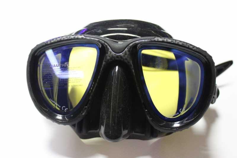 Силиконовая маска для подводного плавания