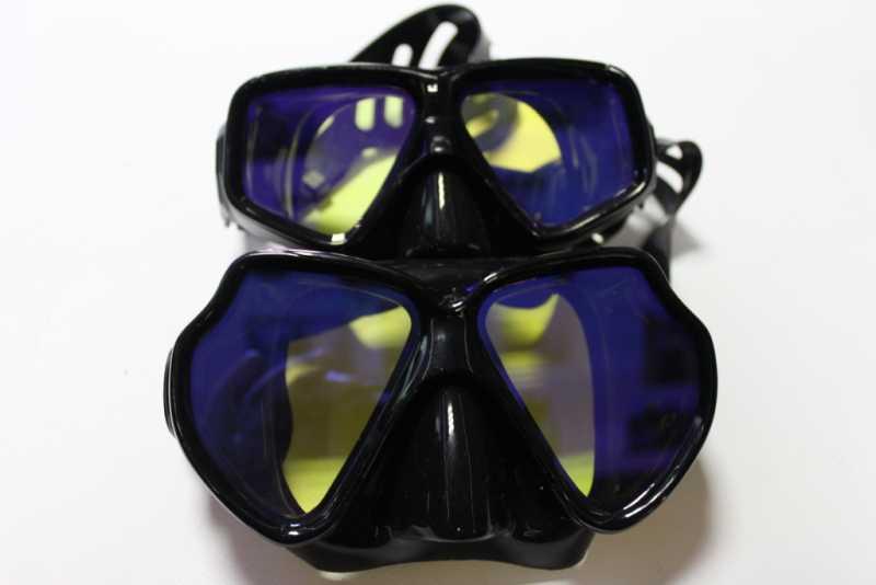 Хороший выбор маски для подводного плавания